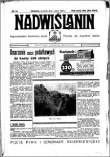 Nadwiślanin. Gazeta Ziemi Chełmińskiej, 1936.03.01 R. 18 nr 24