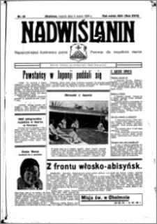 Nadwiślanin. Gazeta Ziemi Chełmińskiej, 1936.03.03 R. 18 nr 25