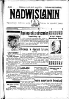 Nadwiślanin. Gazeta Ziemi Chełmińskiej, 1936.03.19 R. 18 nr 32