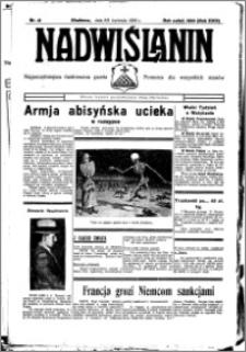 Nadwiślanin. Gazeta Ziemi Chełmińskiej, 1936.04.08-09 R. 18 nr 41