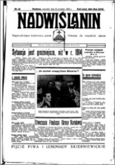 Nadwiślanin. Gazeta Ziemi Chełmińskiej, 1936.04.23 R. 18 nr 46