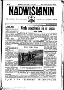 Nadwiślanin. Gazeta Ziemi Chełmińskiej, 1936.05.05 R. 18 nr 51