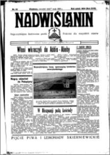 Nadwiślanin. Gazeta Ziemi Chełmińskiej, 1936.05.07 R. 18 nr 52