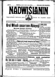 Nadwiślanin. Gazeta Ziemi Chełmińskiej, 1936.05.12 R. 18 nr 54