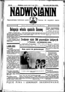 Nadwiślanin. Gazeta Ziemi Chełmińskiej, 1936.05.14 R. 18 nr 55