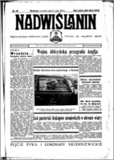 Nadwiślanin. Gazeta Ziemi Chełmińskiej, 1936.05.21 R. 18 nr 58