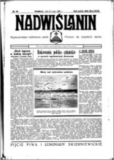 Nadwiślanin. Gazeta Ziemi Chełmińskiej, 1936.05.26 R. 18 nr 60