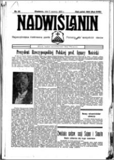 Nadwiślanin. Gazeta Ziemi Chełmińskiej, 1936.06.03 R. 18 nr 63