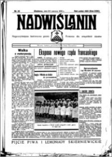 Nadwiślanin. Gazeta Ziemi Chełmińskiej, 1936.06.08-09 R. 18 nr 65
