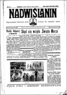 Nadwiślanin. Gazeta Ziemi Chełmińskiej, 1936.06.23 R. 18 nr 71