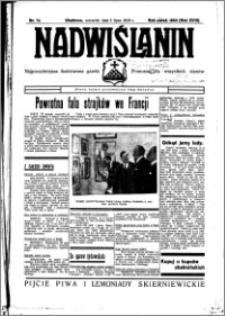 Nadwiślanin. Gazeta Ziemi Chełmińskiej, 1936.07.02 R. 18 nr 74