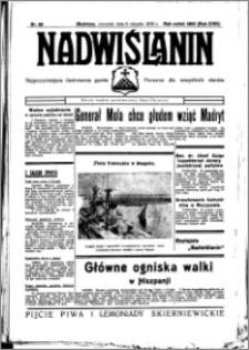Nadwiślanin. Gazeta Ziemi Chełmińskiej, 1936.08.06 R. 18 nr 89