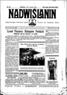 Nadwiślanin. Gazeta Ziemi Chełmińskiej, 1936.08.22-23 R. 18 nr 96