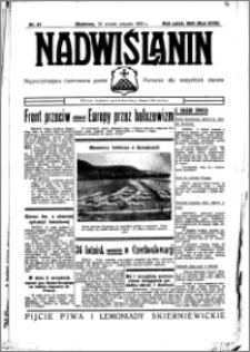 Nadwiślanin. Gazeta Ziemi Chełmińskiej, 1936.08.25 R. 18 nr 97