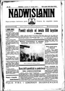 Nadwiślanin. Gazeta Ziemi Chełmińskiej, 1936.08.27 R. 18 nr 98
