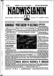 Nadwiślanin. Gazeta Ziemi Chełmińskiej, 1936.09.03 R. 18 nr 101
