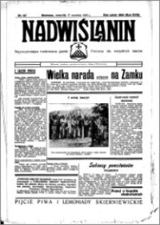 Nadwiślanin. Gazeta Ziemi Chełmińskiej, 1936.09.17 R. 18 nr 107