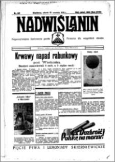 Nadwiślanin. Gazeta Ziemi Chełmińskiej, 1936.09.22 R. 18 nr 109