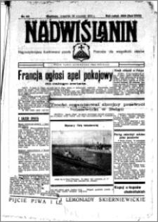 Nadwiślanin. Gazeta Ziemi Chełmińskiej, 1936.09.24 R. 18 nr 110