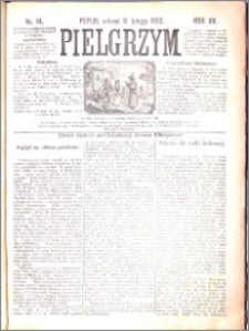 Pielgrzym, pismo religijne dla ludu 1883 nr 14