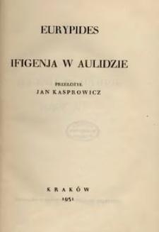 Ifigenja w Aulidzie