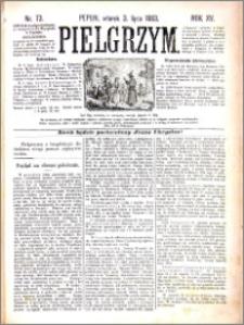 Pielgrzym, pismo religijne dla ludu 1883 nr 73