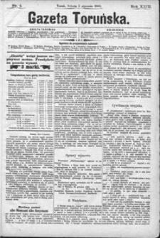 Gazeta Toruńska 1889, R. 23 nr 4