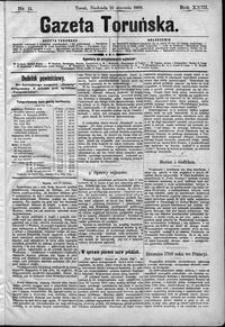 Gazeta Toruńska 1889, R. 23 nr 11