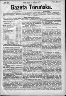 Gazeta Toruńska 1889, R. 23 nr 13
