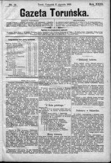 Gazeta Toruńska 1889, R. 23 nr 14
