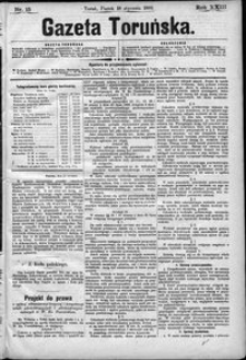 Gazeta Toruńska 1889, R. 23 nr 15