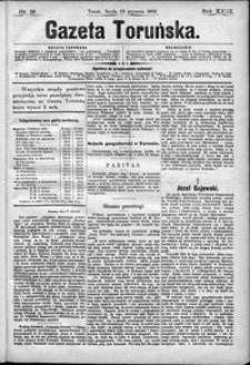 Gazeta Toruńska 1889, R. 23 nr 19