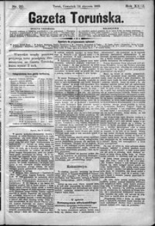 Gazeta Toruńska 1889, R. 23 nr 20
