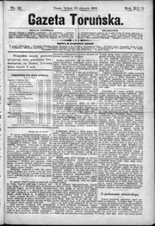 Gazeta Toruńska 1889, R. 23 nr 22