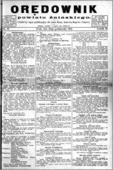 Orędownik Powiatu Żnińskiego 1921.10.26 R.34 nr 82