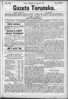 Gazeta Toruńska 1889, R. 23 nr 142