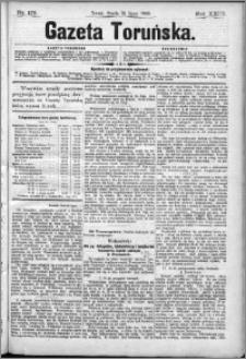 Gazeta Toruńska 1889, R. 23 nr 173