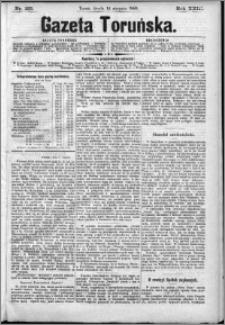 Gazeta Toruńska 1889, R. 23 nr 185