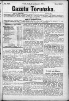 Gazeta Toruńska 1889, R. 23 nr 239