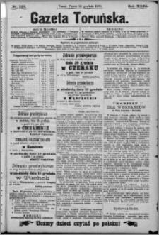 Gazeta Toruńska 1889, R. 23 nr 288