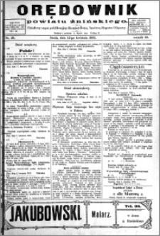 Orędownik Powiatu Żnińskiego 1922.04.12 R.35 nr 29