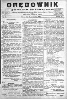 Orędownik Powiatu Żnińskiego 1922.09.16 R.35 nr 70