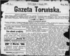 Gazeta Toruńska 1890, R. 24 nr 1