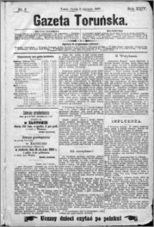 Gazeta Toruńska 1890, R. 24 nr 5