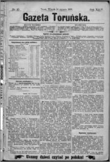 Gazeta Toruńska 1890, R. 24 nr 10
