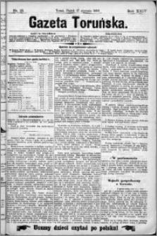 Gazeta Toruńska 1890, R. 24 nr 13