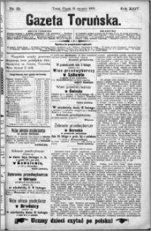 Gazeta Toruńska 1890, R. 24 nr 25