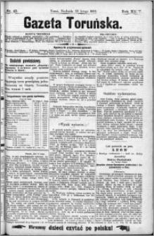 Gazeta Toruńska 1890, R. 24 nr 45