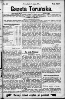 Gazeta Toruńska 1890, R. 24 nr 53