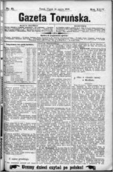 Gazeta Toruńska 1890, R. 24 nr 61